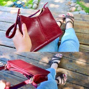 Crimson Liz-Claiborne purse
